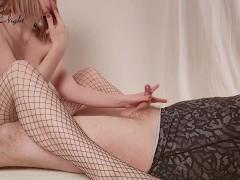 Horny Girl Fucking Boobs and Foot Fetish - Cum Hard