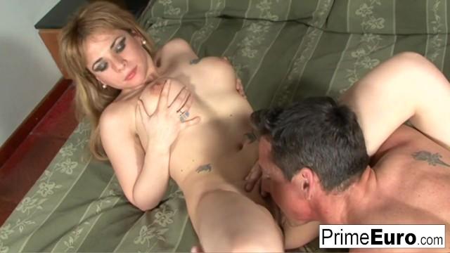 Busty Latina with hairy pussy enjoys hard anal sex!
