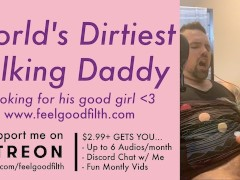 Filthy Big Cock Daddy Tells You How He Owns Your Pussy (DDLG Dirty Talk)