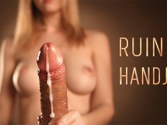 POV Ruined Cumshot - Sensual Edging with Intense Handjob