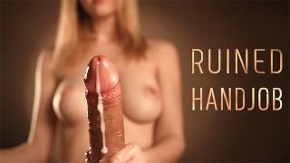 POV Ruined Cumshot – Sensual Edging with Intense Handjob