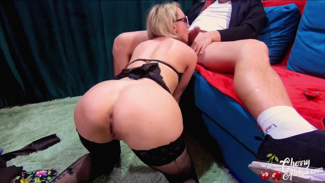 Blowjob and hard pussy Milf deep blowjob and hard fuck ass, pussy - double penetration