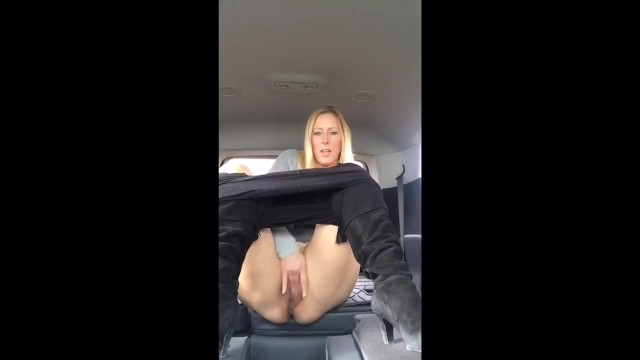 Xxx dvd rental comparison - Blond milf squirts in rental vehicle