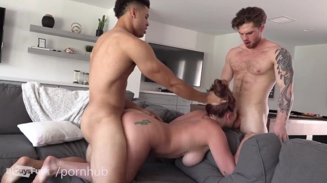 Best nudist gallery - Handsome guy fucks his hairy best friend and his latina gf