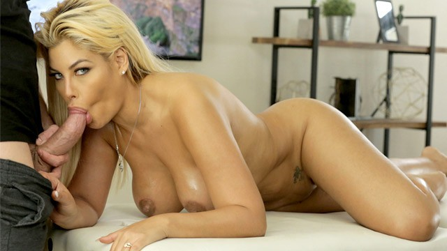 Big blonde busty cock - Bridgette b gets her massive tits massaged before taking cock s10:e12