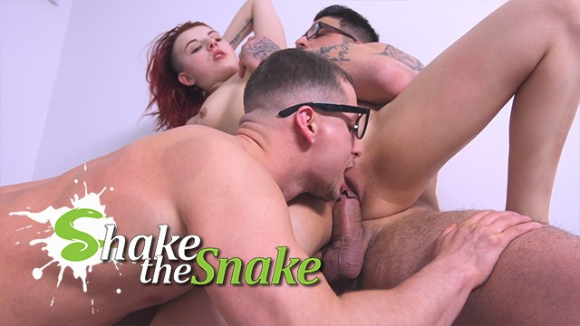 Metal gear solid snake eater nude - Shake the snake - bisexual threesome with my roomate
