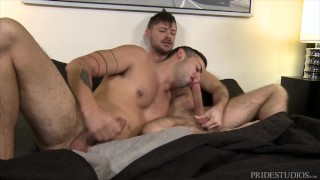 ExtraBigDicks - Cesar Rossi Takes Long Dick From Jack Andy