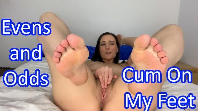 Quarantine JOI Games - Day 6 - Cum On My Feet - Clara Dee