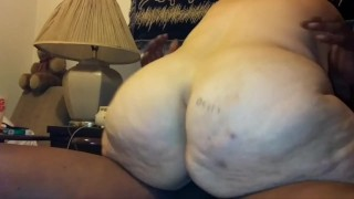 Big booty with fat ass riding black cock