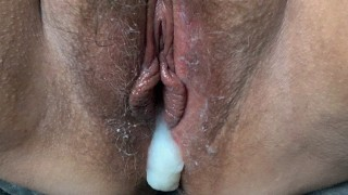 BBW dripping wet flowing creampie compilation. Nothing but cum in pussy.