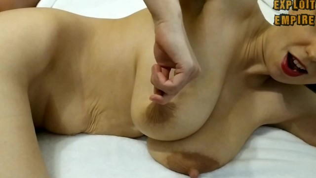 Boobs titties nipples - Milf with sweet big saggy tits and delicious nipples