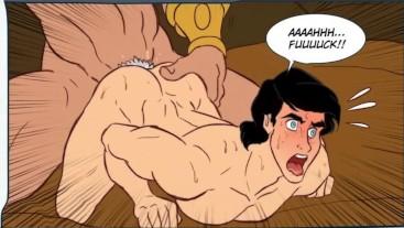 """Hentai - Animacion Gay - Comic dibujo Gay Animado """"Royale Meeting"""" Parte 1"""