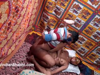 Indian bhabhi takes nephews virginity impregnates aunt real home fucking