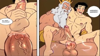 管色情 - Animacion Gay-矢井无尽/ Dibujos同性恋色情(Muy Excitante