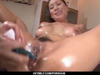Rei Kitajima toy fucked until she reaches the o – More at Japanesemamas com