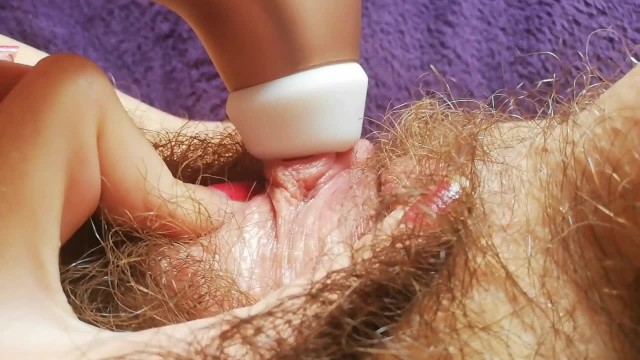 Hairy shemale porn video - 1 hour hairy pussy fetish video compilation huge bush big clit amateur
