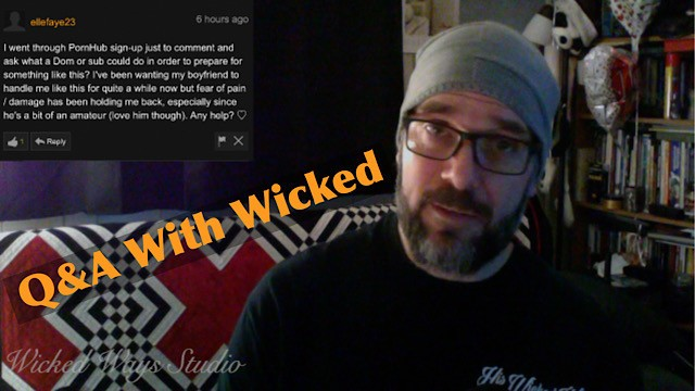 Erotic male slave chat Wicked wednesdays no 1 behind the scenes chat with wicked fellow audio fix