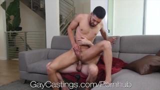 GayCastings Casting Agent Fucks Latino Hunk