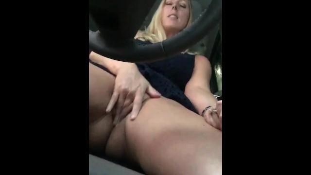 Lesbian car wash Car wash quickie