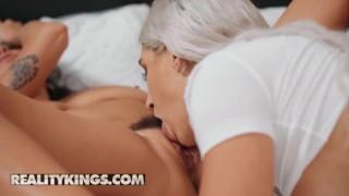 Reality Kings - Big tit Karlee Grey fucks thicc Abella Danger