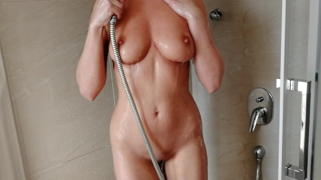 Passionate Shower Sex with a Perfect Fit Girl