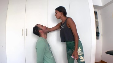 KISS MY BUTT AND GET PUNISHED - FACE SLAPPING - SPITTING