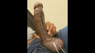 fat Dick Bust Fat Nut While Watching Porn