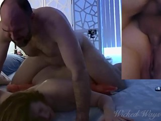 Scortching hot mature Endures a Painful Ass Fucking and Secures Her Ass Full of Cum