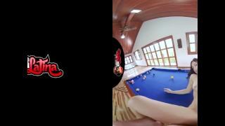 VRLatina - Super Hot Teen Fucks On Pool Table -VR Experience