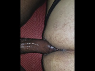 big latino ass takes 2 hung black cocks in vegas