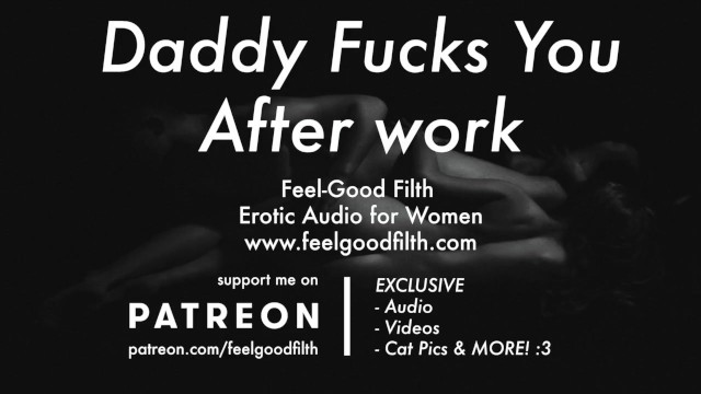 Erotic story roleplay Ddlg roleplay: daddy makes you cum with a wand after work erotic audio