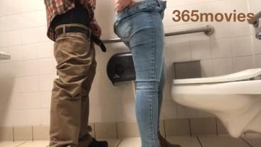Toilet fuck @Target