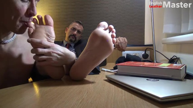 Booted masters gay Suited chelsea boot, sock and foot worship from my boy preview