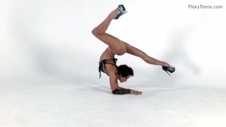 Super flexible hot gymnast Raykina