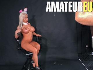 Deutschland Report - Easter Fucking With A Huge Tits MILF - AmateurEuro