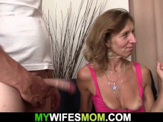 He agrees fuck girlfriends mother hairy cunt