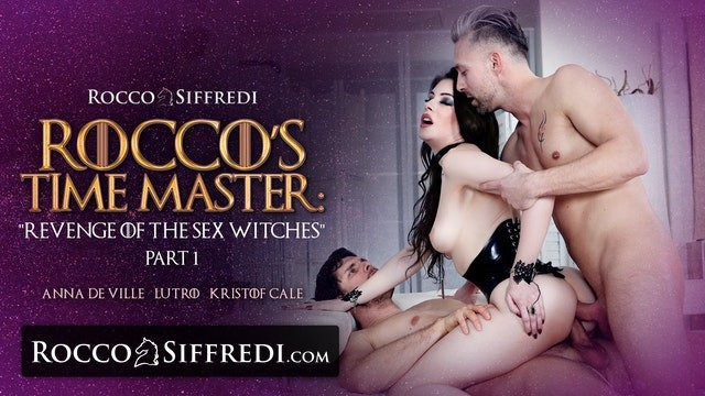 Witch facial products - Roccosiffredi sex witch gets roughly ass fucked by two henchmen