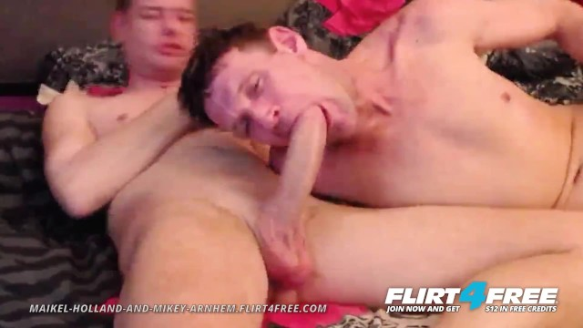 Free gay older men movies Maikel and mikey on flirt4free - older twink gets his monster cock sucked