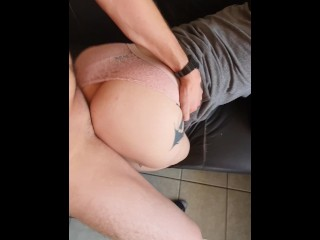 FUCKING MY HOT TEEN NEIGHBOR WHEN HER FATHER SURPRISE US