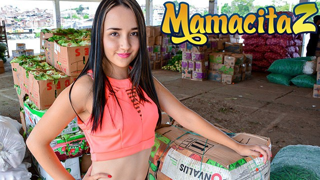 Carne Del Mercado - Cute Big Ass Latina Teen first Porn - MamacitaZ