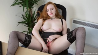 Sexy Redhead Doctor Kloe Kane Clinical Trials JOI