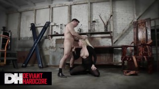Deviant Hardcore – Big Tit Dahlia Sky Gets Dominated And Face Fucked