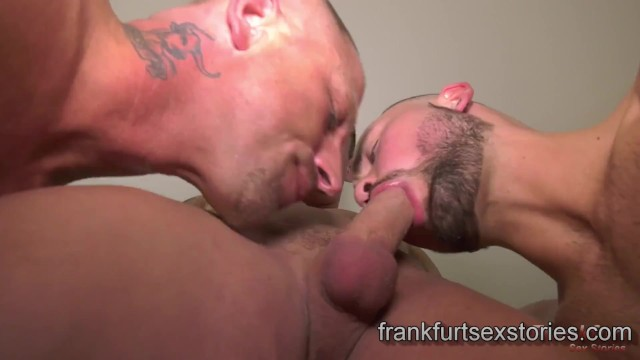 Gay fuck suck stories Three horny muscle guys blow, bang and shoot big loads