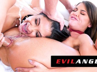 EvilAngel – Jane Wilde & Adriana Chechik Out-Slut Themselves