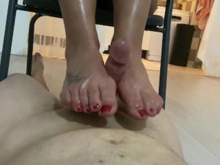 Footjobs feet cei instructions