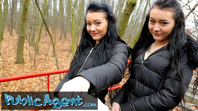 Twins porno tubes - Public agent real twins stopped on the street for indecent proposals