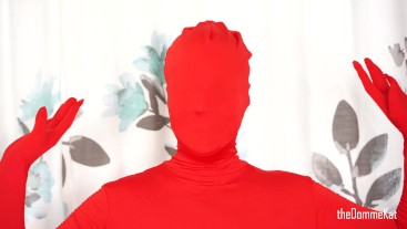 Zentai Suit Up: First Timer Goes Gently