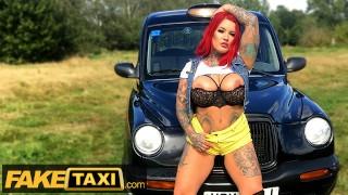 Fake Taxi Sabien Demonia Gives Taxi Driver a Big Boobs Surprise