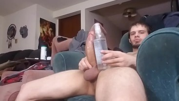 Solo Sunday part 5: Monster Cock cumshot