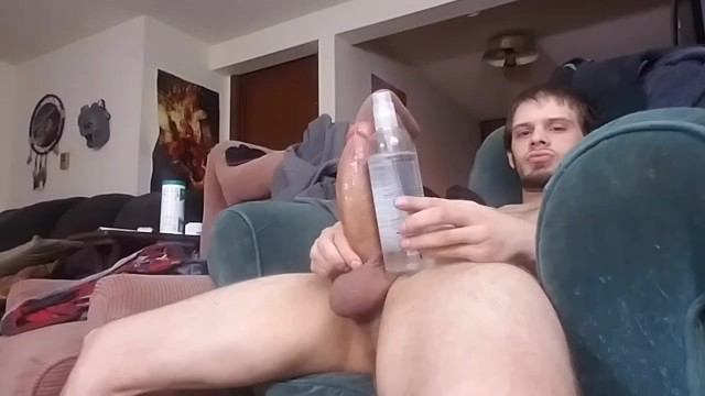 5.5 dick size - Solo sunday part 5: monster cock cumshot